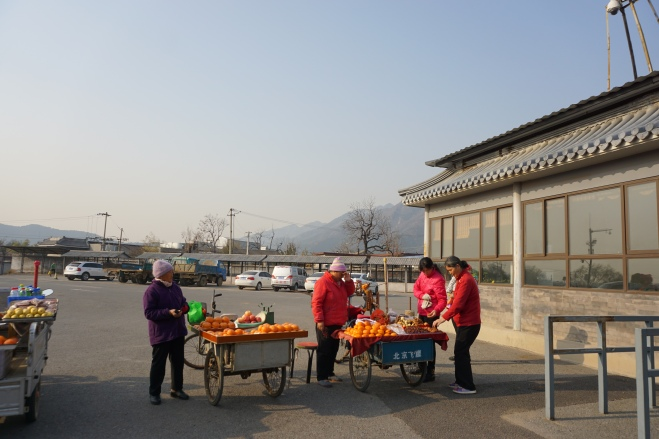 Outside Ming Tombs