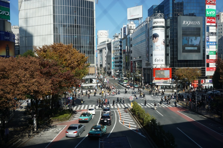 Shibuya Crossing 4