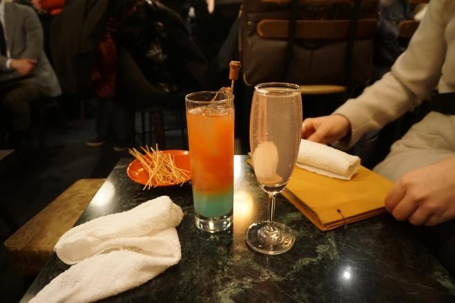Vowz Bar drinks