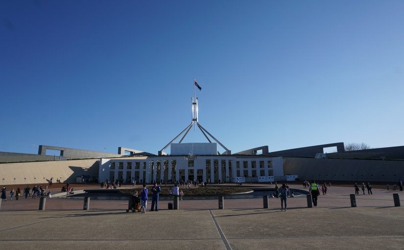 Visiting the capital:Canberra